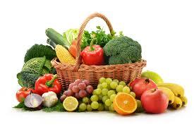 Vegetables, fruits, herbs