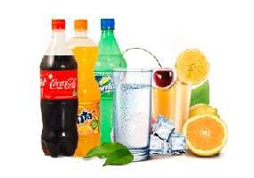 Water, juices, drinks